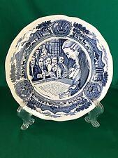 J & G Meakin AMERICA HURRAH English Ironstone Dessert Plate