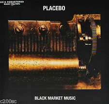 PLACEBO - BLACK MARKET MUSIC, 2015 EU REMASTERED 180G vinyl LP, NEW - SEALED!