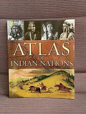 National Geographic Atlas Of Indian Nations Anton Treuer NEW