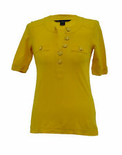 ** Marc by Marc Jacobs ** Yellow Top / T-Shirt ** XS ** Cotton **