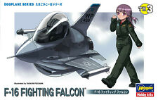 Hasegawa 60103 TH3 Egg Plane Series Aircraft Model Kit F-16 A Fighting Falcon