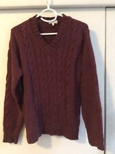 Dries Van Noten Men's Cable Knit Sweater