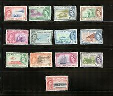CAYMAN ISLANDS STAMPS QEII SCOTT 135-148 MNH CV $87 LOT 48