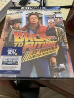 Back To The Future trilogy 4k UHD Bluray Best Buy Steelbook - Brand New Sealed!!
