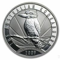 2009 KOOKABURRA 1oz SILVER Coin in Capsule