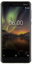 "New Launch Nokia 6.1 (2018) Unlocked Dual SIM 4GB RAM 5.5"" Display Blue-Gold"