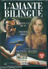 L'amante Bilingue (1993) DVD NUOVO SI Ornella Muti Vincente Aranda Javier Bardem
