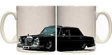 Mercedes W108 W109 ceramic 11oz mug  Bagged Lowrider Benz 250 280se 280sel etc..