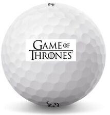 3 Dozen (Game Of Thrones Logo) Titleist Pro V1 X Mint / Aaaaa Golf Balls