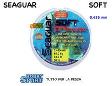 SEAGUAR SOFT FILO FLUOROCARBON 0,435  mm mt 50 PER TERMINALI