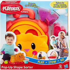 Playskool Pop-Up Shape Sorter Baby Toddler Learning Toy 18+ Month NEW!