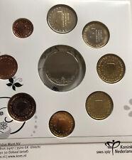 More details for netherlands 🇳🇱9x coins set 2012 wedding 1cent /2€ euro + medal new bunc folder
