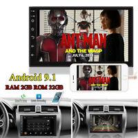 "7"" Android 9.1 2+32GB Car Stereo Radio GPS Wifi 3G 4G BT DAB Mirror Link OBD DVR"