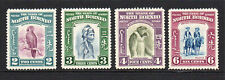 North Borneo 4 Stamps c1939 Mounted Mint Hinged