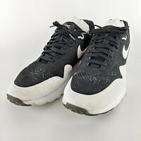 NIKE Black & White 2014 Air Max 1 Ultra Moire Low Top Sneakers 705297-001 Sz 12