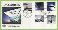 G.B. 2002 Airliners set on Havering (White) First Day Cover, Stanstead Essex