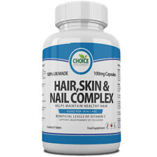 Hair Skin Nail Complex Maintain High Collagen Levels 30 Capsules With Vitamin C