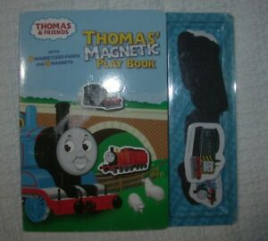 THOMAS & FRIENDS Magnetic Play Board Book w/ Magnets The Tank Engine Harold