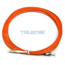 ST/ UPC-LC / UPC fiber 10 inches patch cord jumper cable,Single core 3m