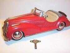 Blechspielzeug Blechspielzeug Cadillac Bandai rot alt