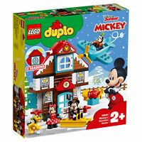 LEGO® DUPLO® Disney™ - Mickey's Vacation House Building Set for Toddlers 57 Pcs