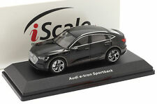 AUDI E-tron Sportback Baujahr 2020 schwarz 1 43 iScale
