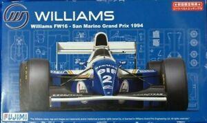 Fujimi 1/20 Williams Renault FW16 1994 Ayrton Senna Demon Hill w Rothmans Decal