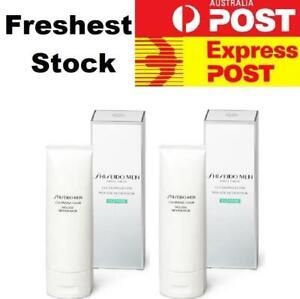 2 x Shiseido Men Cleansing Foam 125ml (Sealed In Box & Shipped From Canberra)