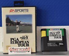 PGA European Tour Golf (pal) Sega Mega Drive 1994 MD mit Anleitung und Hülle
