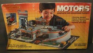 1989 NOS Matchbox Motors Car Dealership Playset #550112 Playmat Service Area