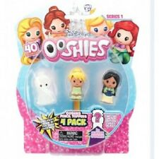 NEW DISNEY PRINCESS 4 PACK OOSHIES SERIES 1 PENCIL TOPPERS 76477