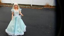 Vintage My Size Barbie Princess Doll With Stander