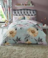 Luxury Floral Duvet Set Clara Duvet/Quilt Cover Set 3 PCs  Bed Set Bedding Set