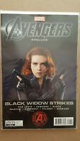 Avengers Prelude Black Widow Strikes #1 Photo Movie Cover Marvel MCU RARE HTF