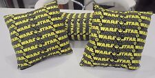 Star Wars Pillows - 2x Square and 1 x Bolster - Bed or Bedroom Display Pillows