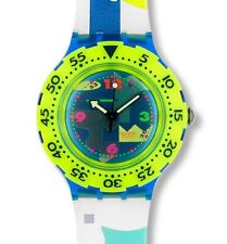Swatch Scuba 200 Over the Wave SDN105 Neu Ovp