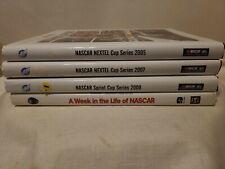 Nascar Book Lot 4 Nextel Cup Series 2005 2007 2008 Life Free Ship Euc Racing