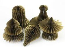 Honeycombs Christmas Tree Ornaments Decoration Accessory Xmas Party Decor Supply