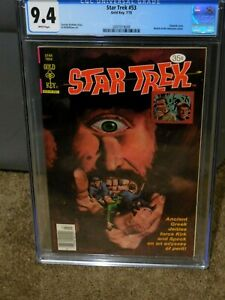 STAR TREK #53 CGC 9.4 PAINTED COVER GOLD KEY SILVER AGE