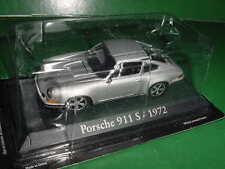 PORSCHE 911 S 1972 GRISE 1/43 IXO