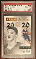 DEVIN BOOKER RARE ROOKIE 2015 PANINI 2020 #39 - PSA 10 - POP 3🔥🔥