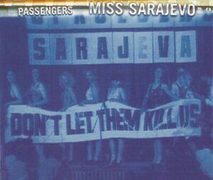 PASSENGERS - MISS SAREJEVO 1995 UK CD SINGLE