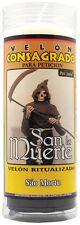 Velón Consagrado San la Muerte (Incluye Ritual) 14 x 5,5cm ☆ PAI JOAO ☆