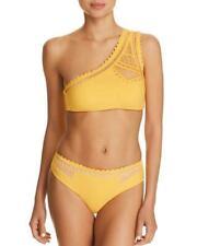 496d25a8a5a2 NWT Red Carter Yellow Peek A Boo One Shoulder Bikini Set 10 zfe9