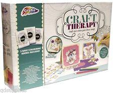 Adulto Cardmaking Scrapbooking colorante & terapia de arte de papel Kit Set R03-0143