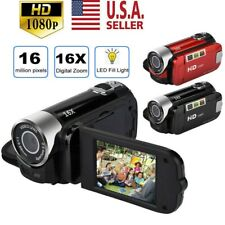 Camcorder Digital Video Camera HD 1080P TFT LCD 24MP 16x Zoom DV AV