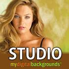 PRO Studio Digital Backgrounds Backdrops Templates Photography Green Screen