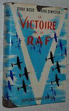 AVIATION / VICTOIRE DE LA RAF / WOOD & DEMPSTER / LUFTWAFFE BATAILLE ANGLETERRE