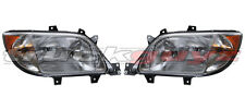 03-06 Freightliner Sprinter Truck OE Style Head Light WITH FOG PAIR