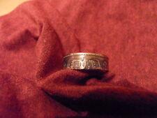 Münzring Coinring Handarbeit 1 Gulden Niederlande 1958   720 Silber  Gr.58